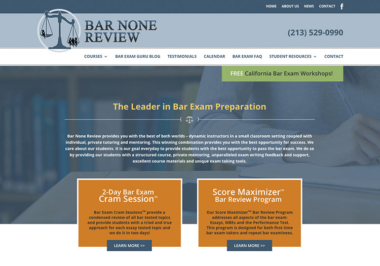 california bar exam essay preparation You vs the bar exam review course with published pass rates $1495 tuition if you pay by october 1 for the february or july 2018 bar exams.