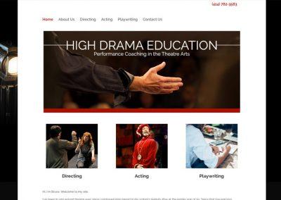 High Drama Education